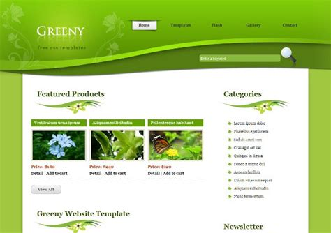 free software search html css template