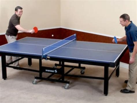 free ping pong table sportcraft mariposa blue top table tennis ping pong