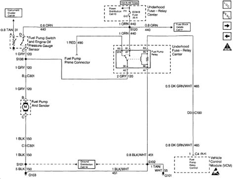 Wiring Diagram 2007 Chevy Expres by I A 1996 Chevy G10 And No Voltage To Fuel