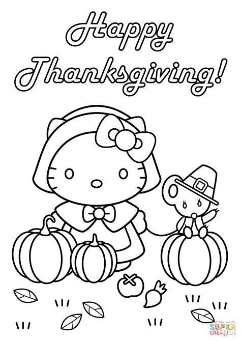 thanksgiving color pages hello happy thanksgiving coloring page free
