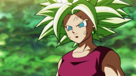 kefla  dragon ball super viene immaginata  forma super