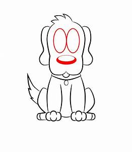 How To Draw A Cartoon Dog - Draw Central