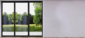 Baie Coulissante Bois : baie coulissante 3 vantaux pvc bois alu portes terrasse ~ Premium-room.com Idées de Décoration