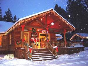 Christmas at the Cabins - Picture of Somers Bay Log Cabin