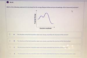 Solved  H3 27 What Result Does Adding A Catalyst To A Chem