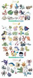 Pokemon Go Tier Chart Pokemon Go Generation 3 Egg Hatch List All Gen 3 Egg Pokemon
