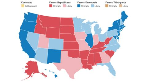 final map  clinton winning   electoral votes