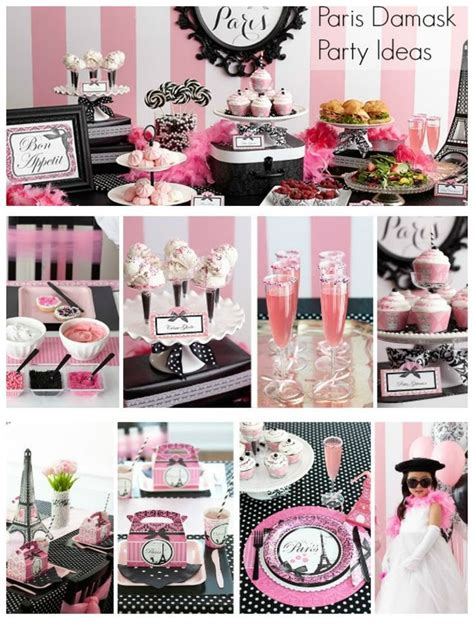 paris themed birthday party ideas party ideas paris