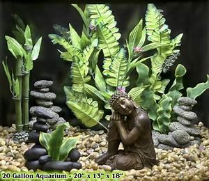 Deco Aquarium Zen : best 25 fish tank themes ideas on pinterest aquarium ~ Melissatoandfro.com Idées de Décoration