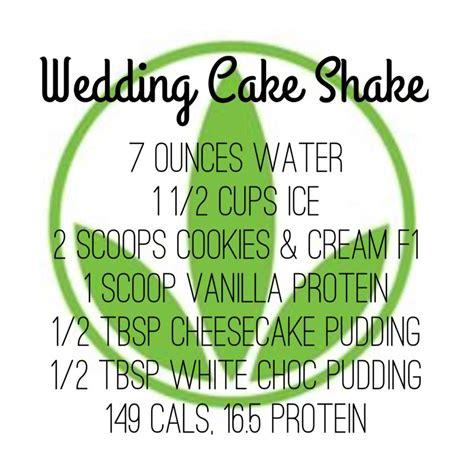 50 herbalife birthday cakes ranked in order of popularity and relevancy. Herbalife Wedding Cake Shake Recipe   Herbalife shake recipes, Herbalife recipes, Herbalife diet