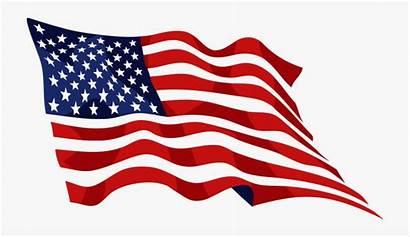 Flag American Clipart Memorial Cartoon Netclipart Silhouettes
