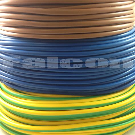 pvc electrical sleeving earth brown blue 2mm 3mm 4mm