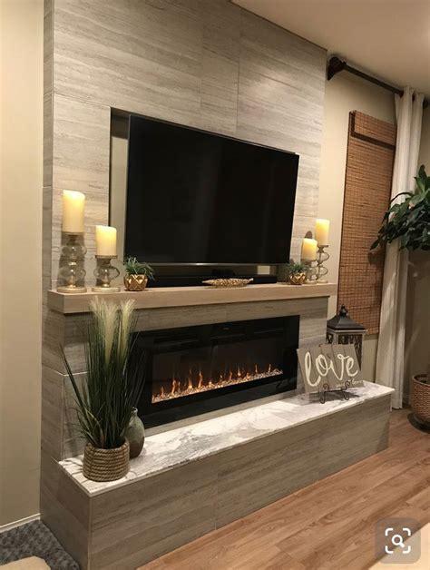 etkileyici tv soemine tasarim dekorasyon fikirleri
