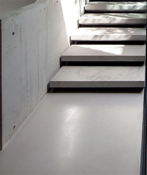 panDOMO polished cement floor by Ardex.   panDOMO