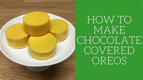 how to make chocolate covered oreos how to make chocolate covered oreos my crafts and diy projects