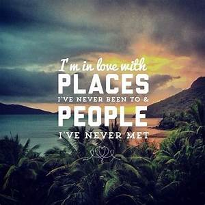 I'm in love... Beautiful Cities Quotes