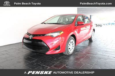 Toyota Royal Palm by New Toyota Corolla Specials Serving West Palm Royal