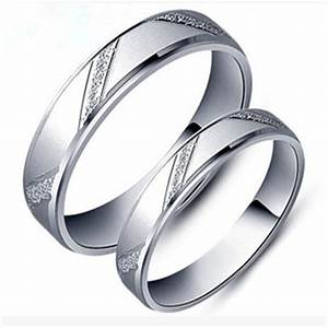 Fashion men women jane love 925 sterling silver couple for Wedding bands couple rings