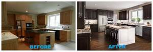 kitchen before and after transformation a design With interior decorating ideas before and after