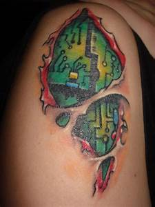 Motherboard Skin Tear – Tattoo Picture at CheckoutMyInk.com