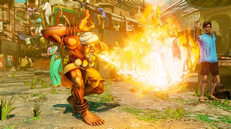 Street Fighter Dhalsim Flame That Lights The Way