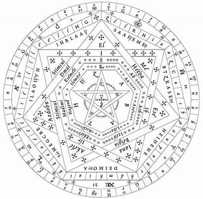 Seal Truth Symbols God Enochian Sigillum Dei