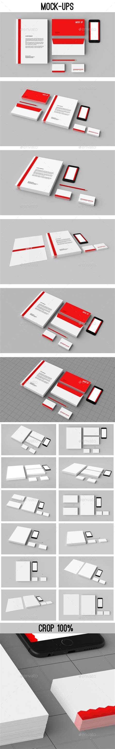 stationery mock ups corporate id  images