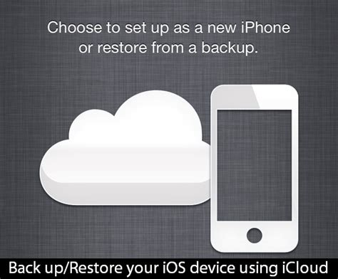 restore iphone from icloud backup how to setup your new iphone from an icloud backup