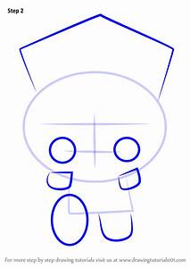 Learn How To Draw Policeman Bruce From Pucca Pucca Step