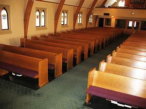 Church Upholstery  Paying Attention To The Pews