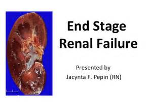 End-Stage Renal Failure