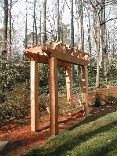 garden swing design ideas hgtv
