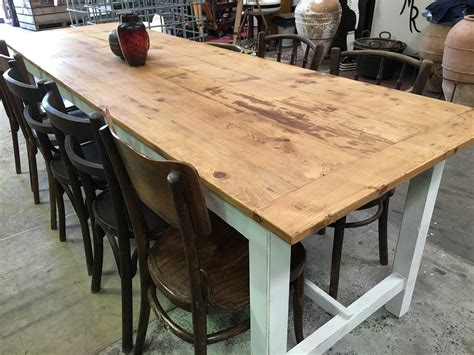vintage industrial french kitchen tables  fossil