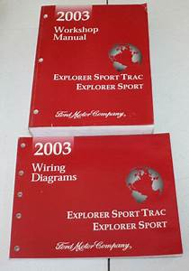 2003 Ford Explorer Sport Trac  Explorer Sport Manual