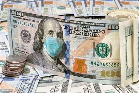 face mask   dollar bills  coronavirus stock photo  image  istock