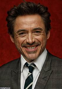 Robert Downey Jr with a Symmetric Face Pictures
