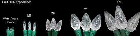 what is the difference between c7 and c9 light bulbs led lights for the holidays sandy springs