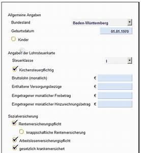 Brutto Netto Rechner Rechnung : lohn und gehaltsabrechnung kostenlos zum ausdrucken ~ Themetempest.com Abrechnung