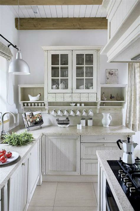 All White Country Kitchen Pictures, Photos, And Images For