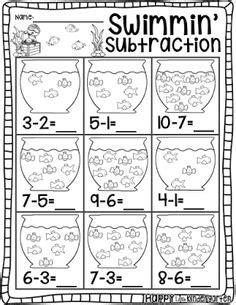 subtraction fact worksheets images subtraction