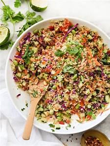 Thai Quinoa Salad foodiecrush com