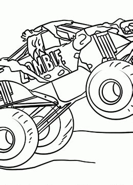 monster truck coloring pages  kids big collection coloring pages  monster truck printables