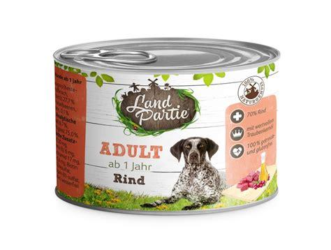 Dosenfutter Für Hunde