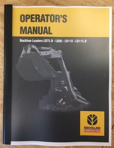 holland lbb lb lb lbb operators manual