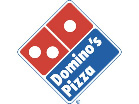 Domino's Pizza Logo Png Transparent & Svg Vector