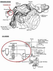 1994 Toyota Pickup 4x4 3 0 Engine Diagram