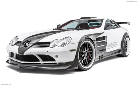 Mercedes Slr Widescreen Exotic Car
