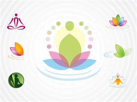 Disponibles en png et en vecteurs. Yoga Logos