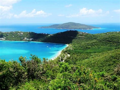 beachfront  magens bay large home  rental income st