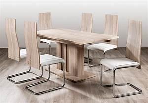 Stuhl Sonoma Eiche : figo 4er set stuhl sonoma eiche s gerau und weiss ~ Eleganceandgraceweddings.com Haus und Dekorationen